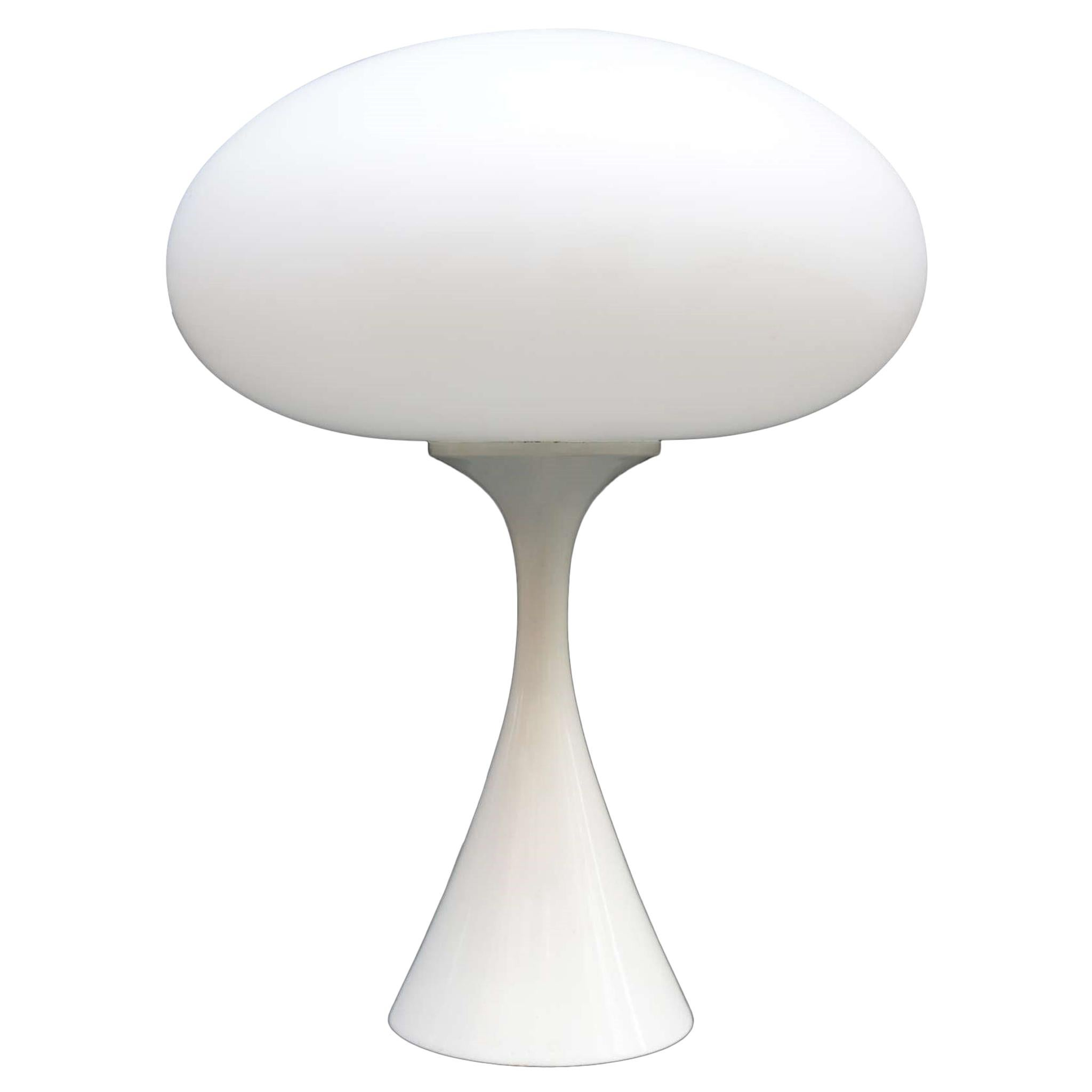 Modernist Single Table Lamp by Bill Curry