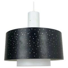 Modernist Space Age Hanging Light by Ernest IGL for Hillebrand Lights, 1960s