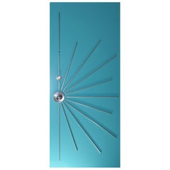 Modernist Starburst Single Entry Door Built to Order