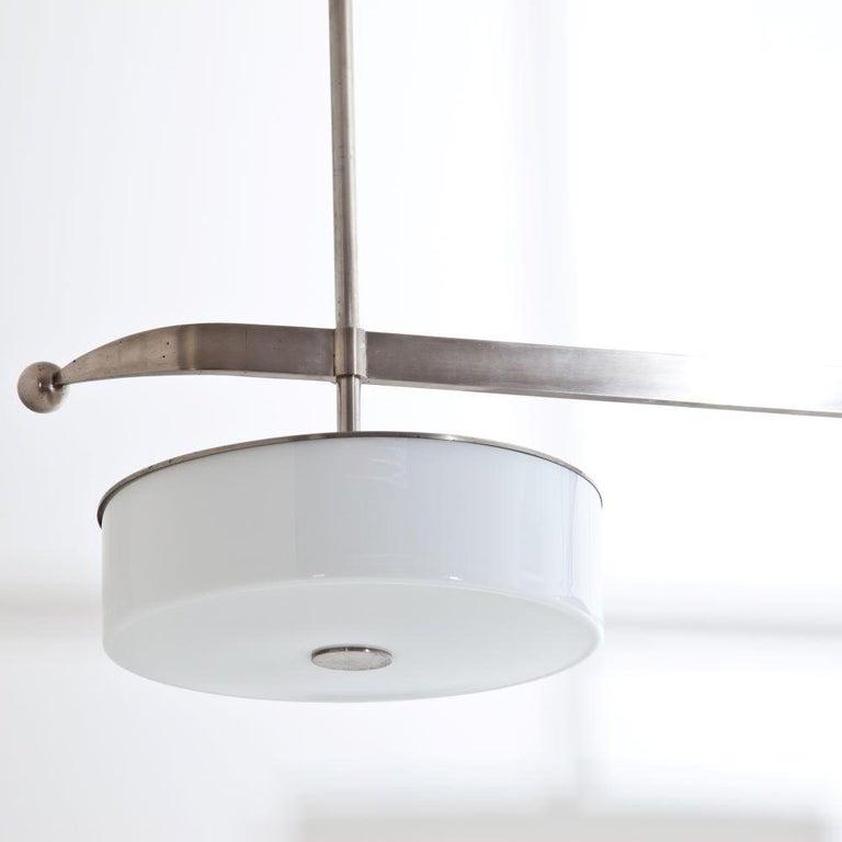 Mid-20th Century Modernist Streamlined Ceiling Light, 1930s For Sale
