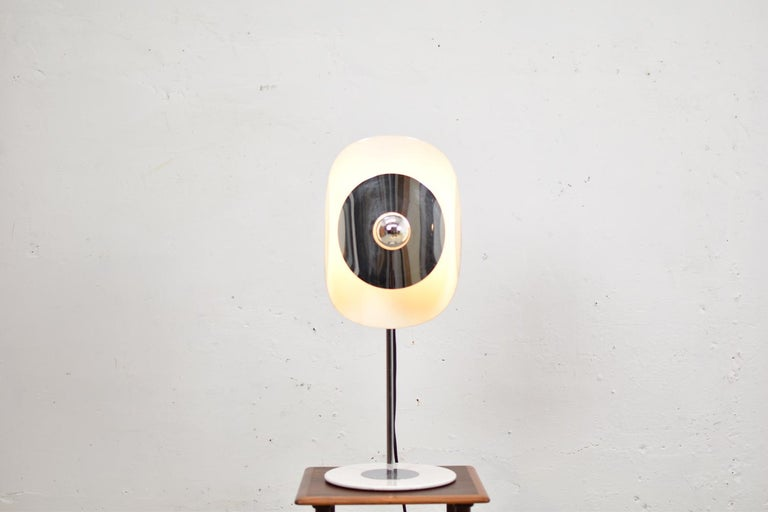 Mid-Century Modern Modernist Table Lamp by Brevetatto, Italy, 1970s For Sale