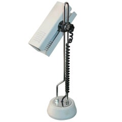 Modernist Table Lamp in the Style of Joe Colombo