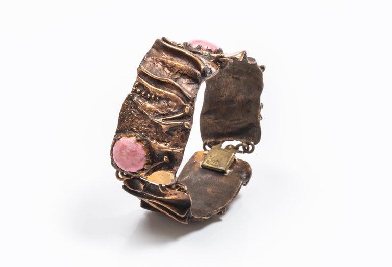 Modernist Tammen Koru 1970 Bracelet For Sale 1