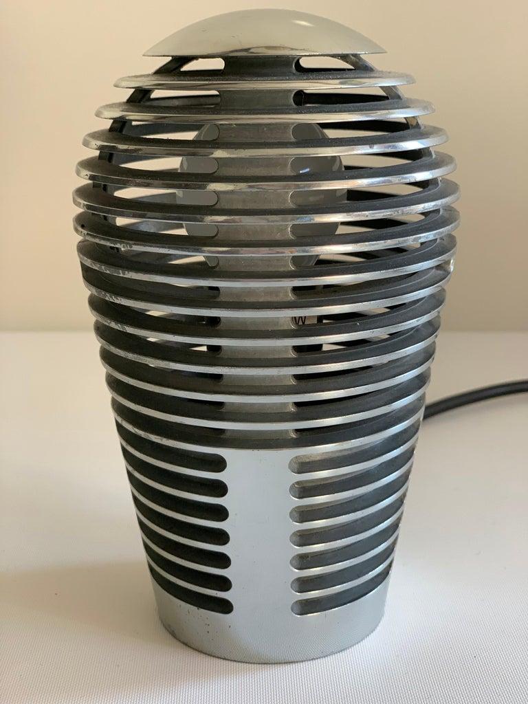 Modernist Vintage Metal Table Lamp Zen by S.y.c. Cevese, 1980s 6