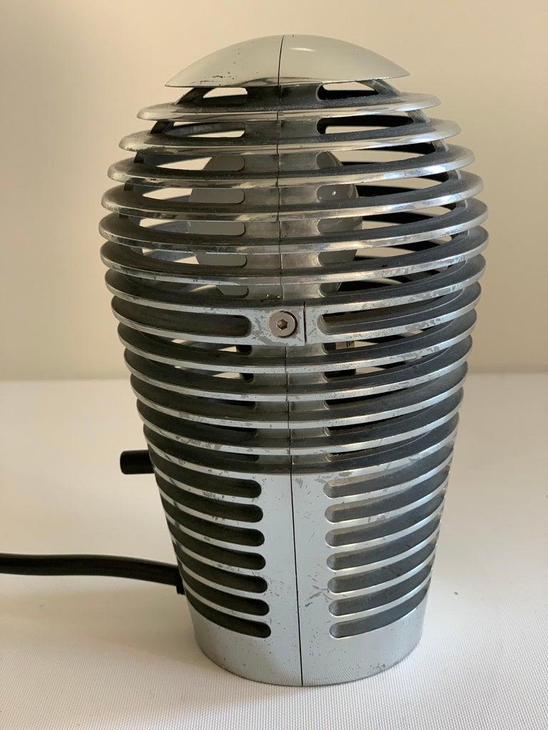 Modernist Vintage Metal Table Lamp Zen by S.y.c. Cevese, 1980s 2