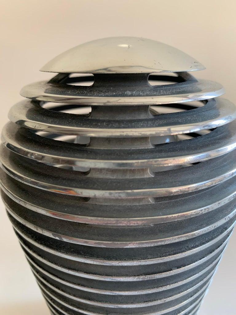 Modernist Vintage Metal Table Lamp Zen by S.y.c. Cevese, 1980s 3