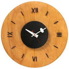 Modernist Wall Clock by George Nelson