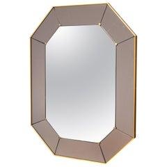 Modernist Wall Mirror by Cristal Art