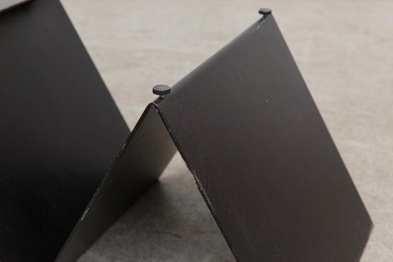 Modernist Zig Zag Metal Coffee Table At 1stdibs