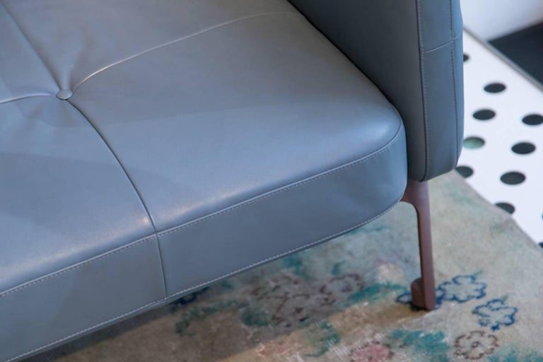 Contemporary Modernista Armchair by Doshi and Levien in Fabric or Leather for Moroso For Sale