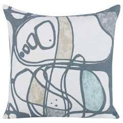 Modform Pillow in Multi-Color Gray by CuratedKravet