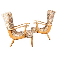 Modulable Pair of Armchairs