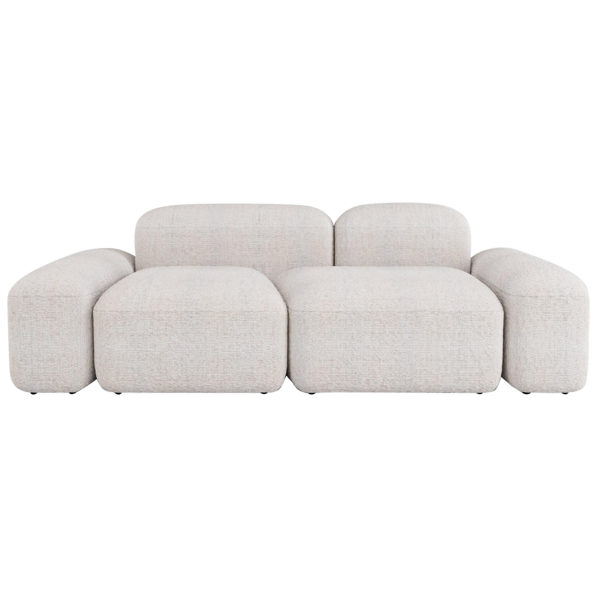 Modular and Customizable Sofa 'Lapis' 030