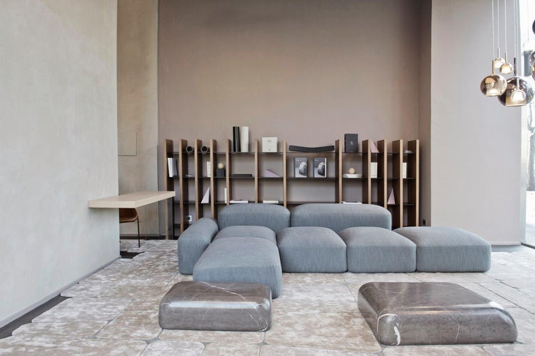 Modular and Customizable Sofa 'Lapis' E019 In New Condition For Sale In Paris, FR