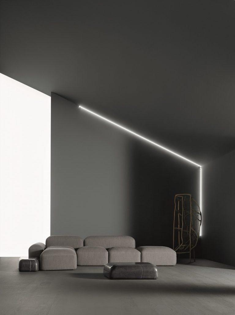 Modular and Customizable Sofa 'Lapis' E019 For Sale 1