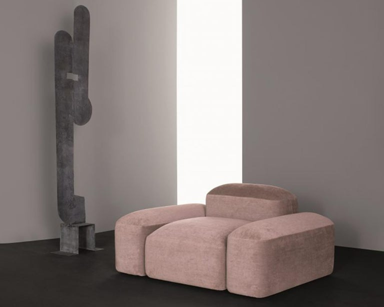 Modular and Customizable Sofa 'Lapis' E019 For Sale 2