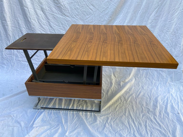 European Modular Coffee Table / Dining Table - French Work, circa 1970 For Sale