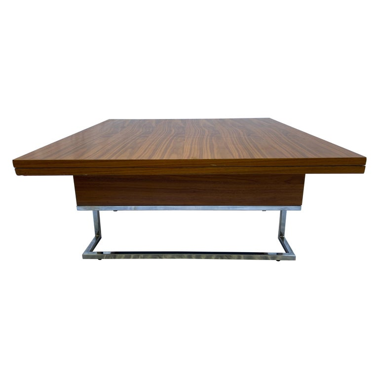 Modular Coffee Table / Dining Table - French Work, circa 1970 For Sale