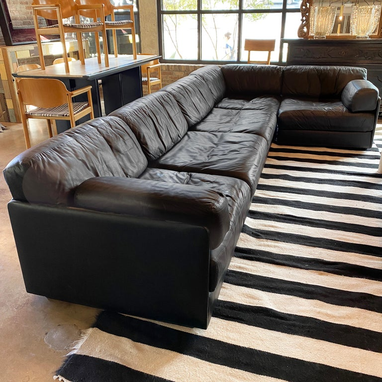 Mid-Century Modern Modular De Sede Sectional Sofa DS-76, 1970s For Sale