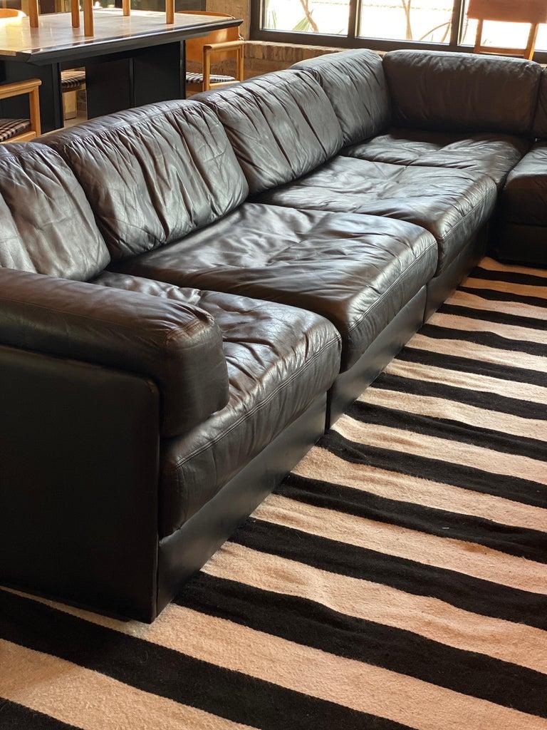 20th Century Modular De Sede Sectional Sofa DS-76, 1970s For Sale