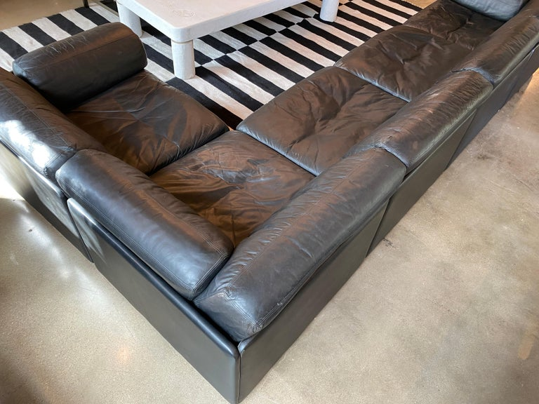 Modular De Sede Sectional Sofa DS-76, 1970s For Sale 2