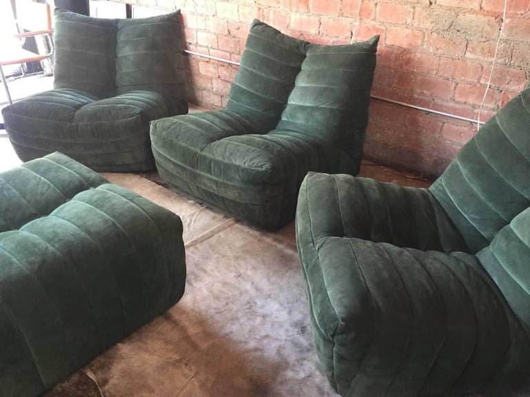 Fantastic Modular Green Sectional Sofa Giannone By Arch G Grignani Unemploymentrelief Wooden Chair Designs For Living Room Unemploymentrelieforg