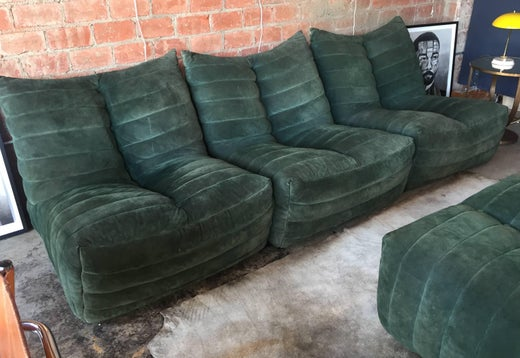 Enjoyable Modular Green Sectional Sofa Giannone By Arch G Grignani Unemploymentrelief Wooden Chair Designs For Living Room Unemploymentrelieforg