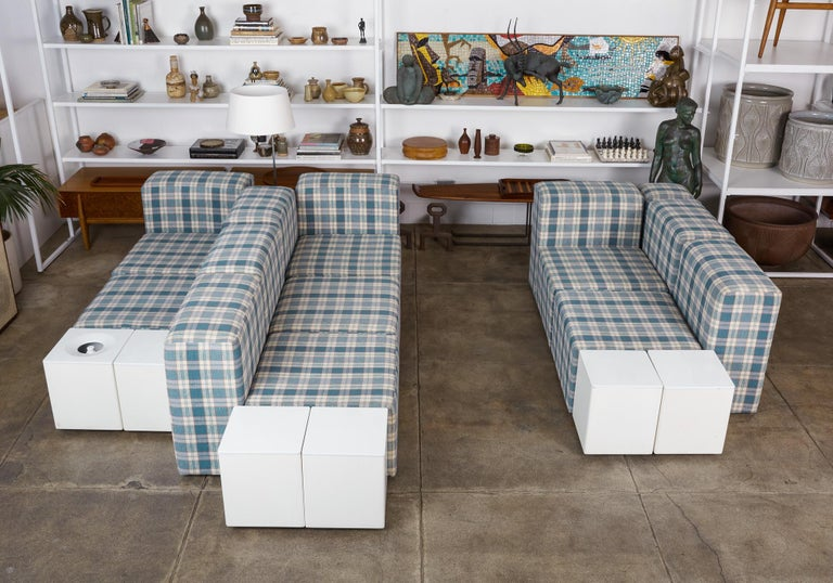 Modular Seating System by Giancarlo Piretti for Castelli For Sale 3