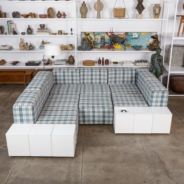 Modular Seating System by Giancarlo Piretti for Castelli For Sale 4