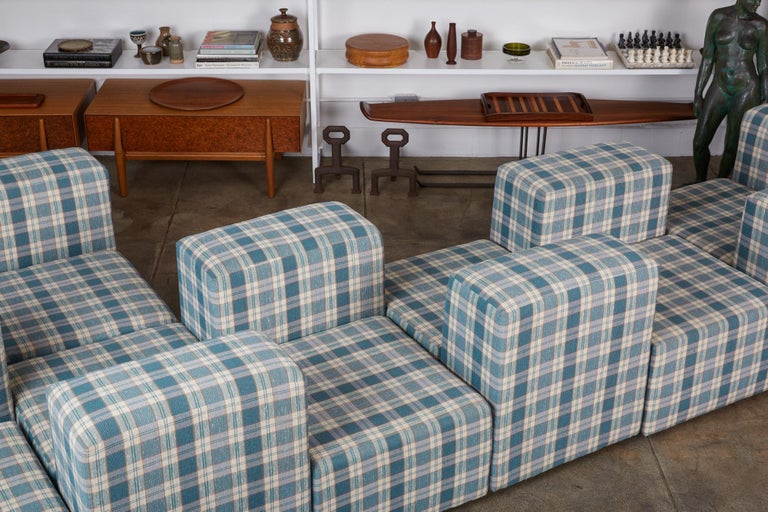 Modular Seating System by Giancarlo Piretti for Castelli For Sale 7