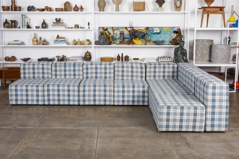Mid-Century Modern Modular Seating System by Giancarlo Piretti for Castelli For Sale