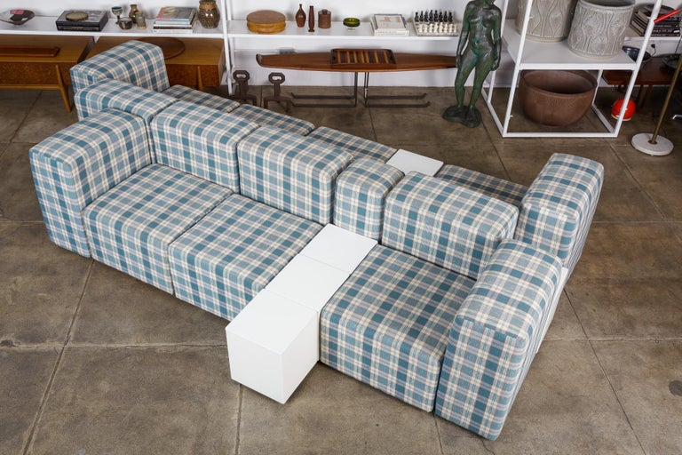 Modular Seating System by Giancarlo Piretti for Castelli In Excellent Condition For Sale In Los Angeles, CA