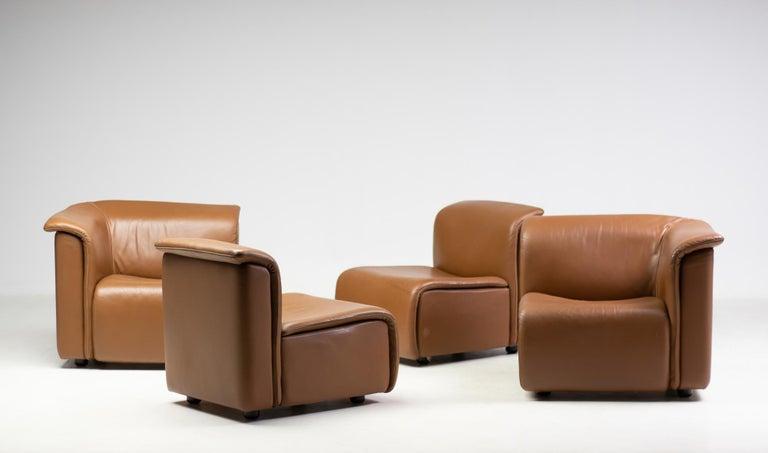 Modular Sofa by Wittmann Moebelwerkstaetten For Sale 3
