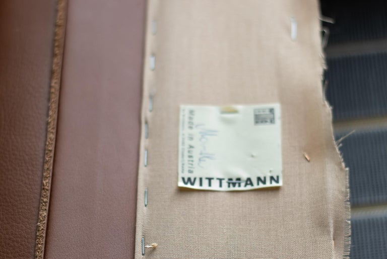 Modular Sofa by Wittmann Moebelwerkstaetten For Sale 4