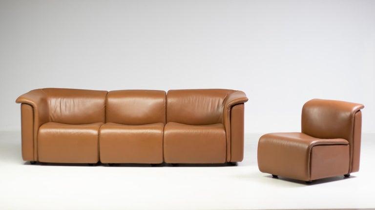 Modern Modular Sofa by Wittmann Moebelwerkstaetten For Sale
