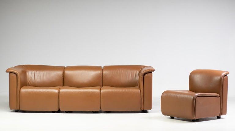 Austrian Modular Sofa by Wittmann Moebelwerkstaetten For Sale