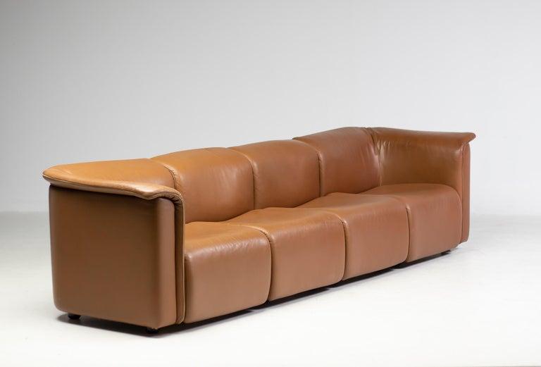 Modular Sofa by Wittmann Moebelwerkstaetten In Good Condition For Sale In Dronten, NL