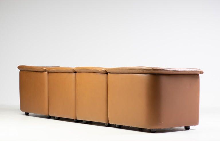 Modular Sofa by Wittmann Moebelwerkstaetten For Sale 1