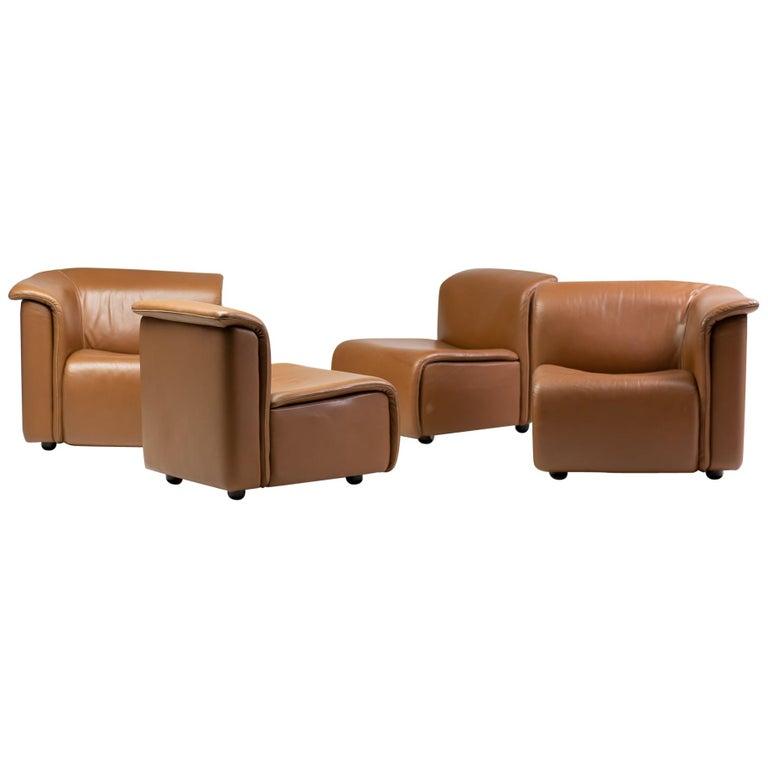 Modular Sofa by Wittmann Moebelwerkstaetten For Sale
