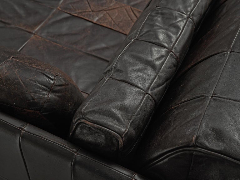 Late 20th Century Modular Sofa Leather for De Sede For Sale
