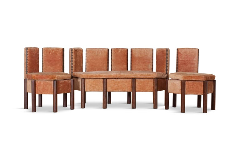 Modular Sofa System Attributed to Carlo Scarpa, Italy, circa 1958 For Sale 1