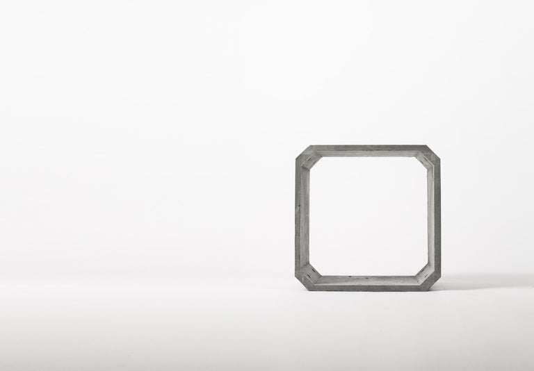 Contemporary Modular Storage 'KOU' Made of Concrete For Sale