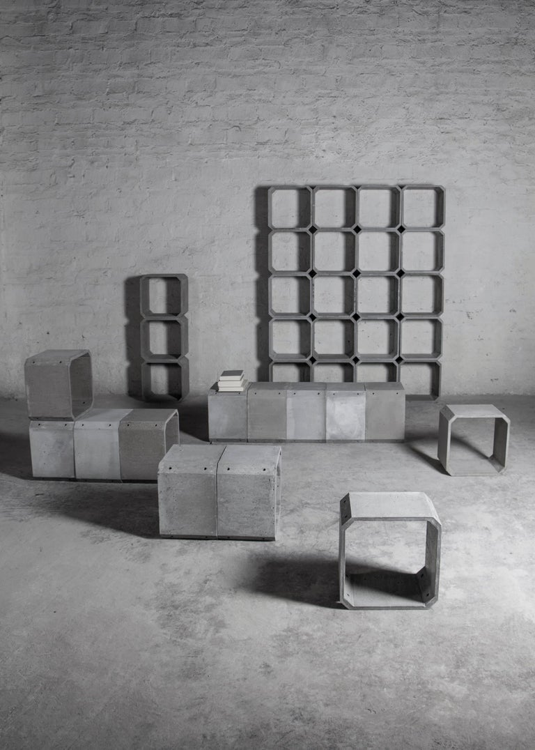 Modular Storage 'KOU' Made of Concrete For Sale 1