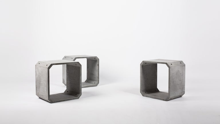 Modular Storage 'KOU' Made of Concrete For Sale 3