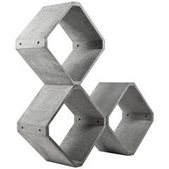 Modular Storage 'KOU' Made of Concrete