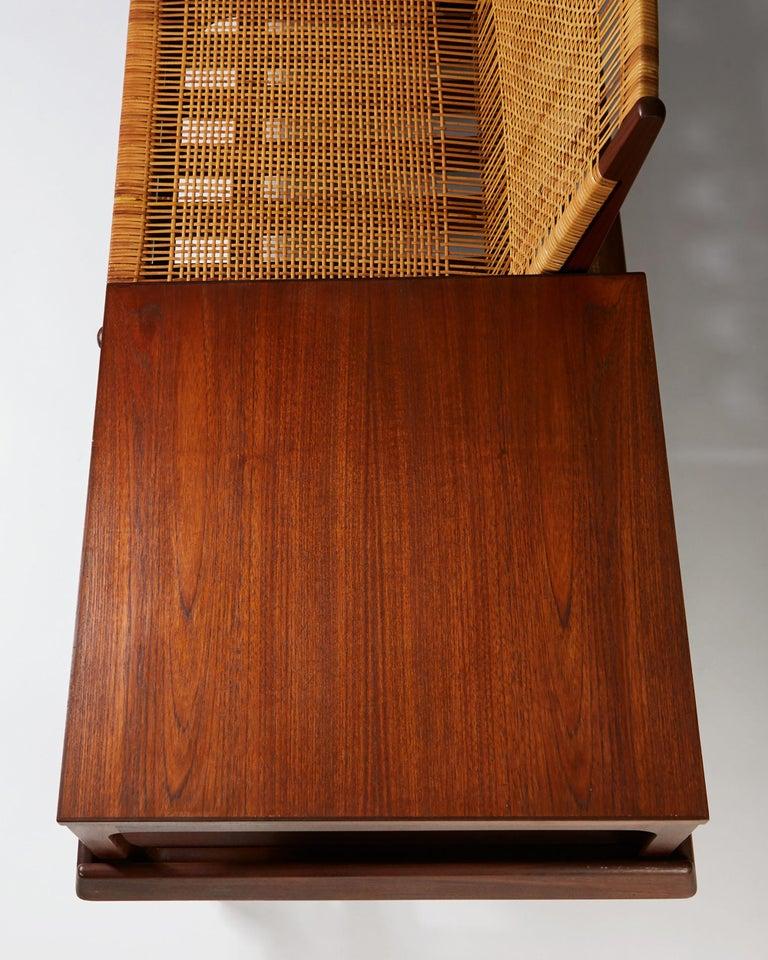 Modular TV Bench Model 161 Designed by Hans Olsen for Bramin, Denmark, 1957 For Sale 2
