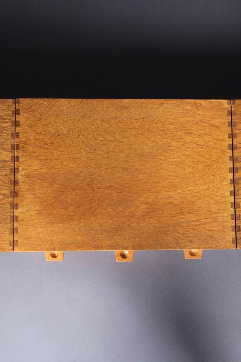 Metal Modular Wall System in Teak by Yngve Ekström for Luxus, Sweden, 1950s For Sale