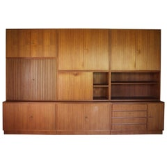 Modular Wall Unit Designed by Georg Satink for WK Möbel, Germany, 1952