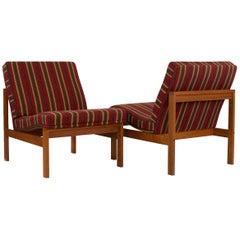 """Moduline"" Chairs, Design by Ole Gjerløv-Knudsen for France & Søn, 1960s"