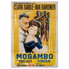 """""""Mogambo"""" R1962 Italian Due Fogli Film Poster"""